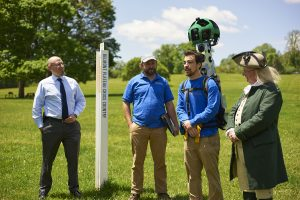 The launch of the Google Trekker project in Fairmount Park Belmont Plateau May 16, 2016