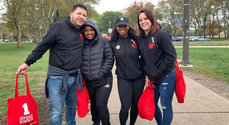 33rd AIDS Walk Philly fundraising success featured on KYW Newsradio
